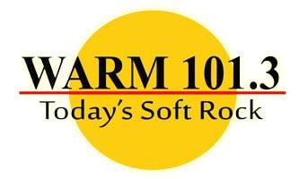 Warm 101.3 Logo