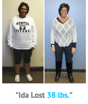 Weight Loss Rochester NY Ida Testimonial