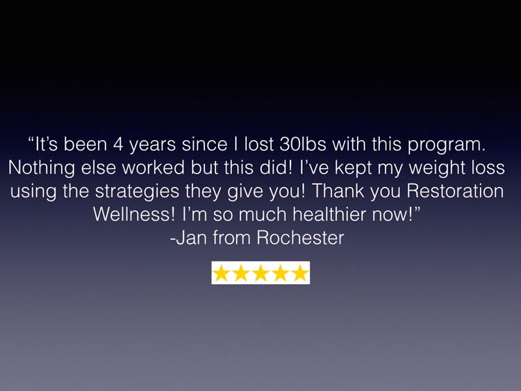 Weight Loss Rochester NY Patient Testimonial